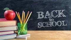 Back to School Dates and Times